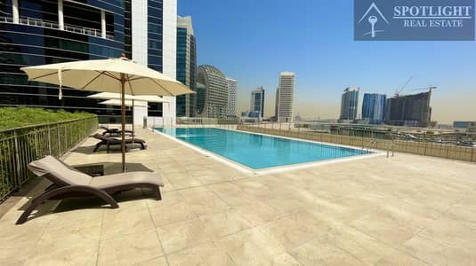 NO COMMISSION | 2 MONTHS FREE | 2 BEDROOM | CANAL & POOL VIEW | BUSINESS BAY | ONLY  79K