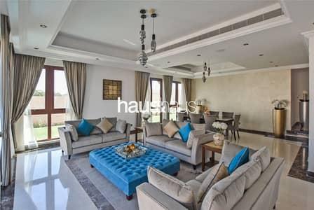 فیلا 5 غرف نوم للبيع في عقارات جميرا للجولف، دبي - Furnished | Maids + Drivers room | Elevator