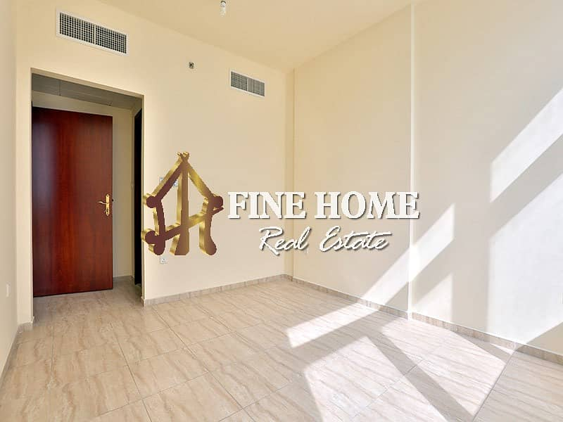 Central AC + Bright & Spacious 2BR with Balcony