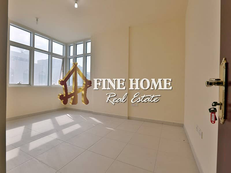 14 Central AC + Bright & Spacious 2BR with Balcony