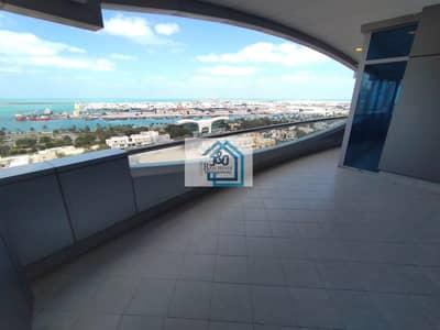 فلیٹ 4 غرف نوم للايجار في منطقة الكورنيش، أبوظبي - Spacious 4 bedroom apartment with full sea view