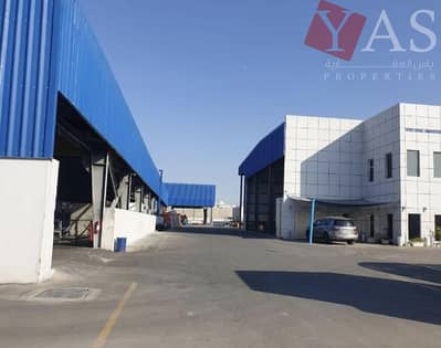 Factory for Sale in Al Ghail, Ras Al Khaimah - Customized Pipe Mill | Labour Accommodation