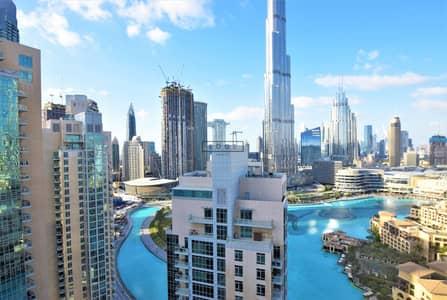 شقة 2 غرفة نوم للبيع في وسط مدينة دبي، دبي - AMAZING 2 BED APT | BURJ AND FOUTAIN VIEW