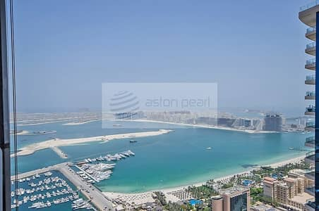 فلیٹ 2 غرفة نوم للبيع في دبي مارينا، دبي - Sea View | Unfurnished  2 Bedroom | On High Floor