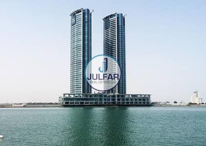 فلیٹ 3 غرف نوم للايجار في دفن النخیل، رأس الخيمة - 3 BHK Apartment for RENT in Julphar Tower
