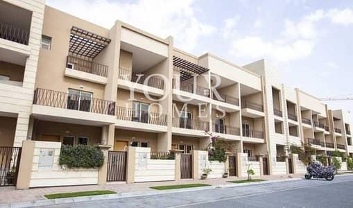تاون هاوس 3 غرف نوم للايجار في قرية جميرا الدائرية، دبي - AS l 3+Maids