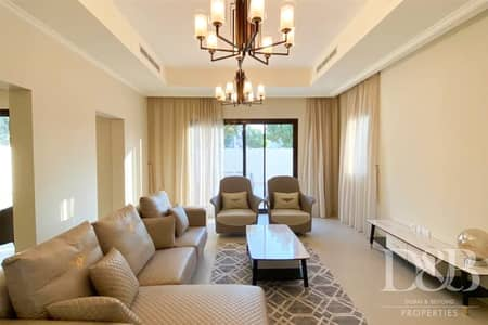 4 Bedroom Villa for Rent in Arabian Ranches 2, Dubai - Available in April | Furnished | Single Row