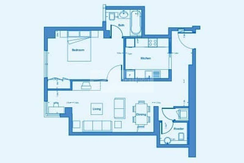 9 Exclusive    Best Layout 1 Bedroom    High Floor