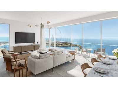 3 Bedroom Apartment for Sale in Jumeirah Beach Residence (JBR), Dubai - Full Sea View I Private Beach Access I High Ceiling