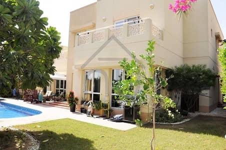 فیلا 6 غرف نوم للايجار في السهول، دبي - Stunning Lake View | 6BR + Maid | Prestige Condition