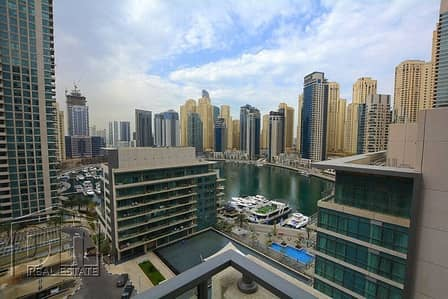 3 Bedroom Flat for Rent in Dubai Marina, Dubai - 3 Bed + Study | Fully Upgraded | Full Marina Views