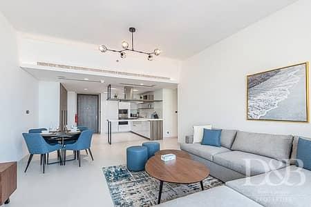 2 Bedroom Apartment for Rent in Palm Jumeirah, Dubai - Plus Study | Golden Mile & Burj View | Large 2BR
