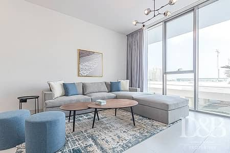 1 Bedroom Flat for Rent in Palm Jumeirah, Dubai - City View | Study | Terrace | Fully Furnished
