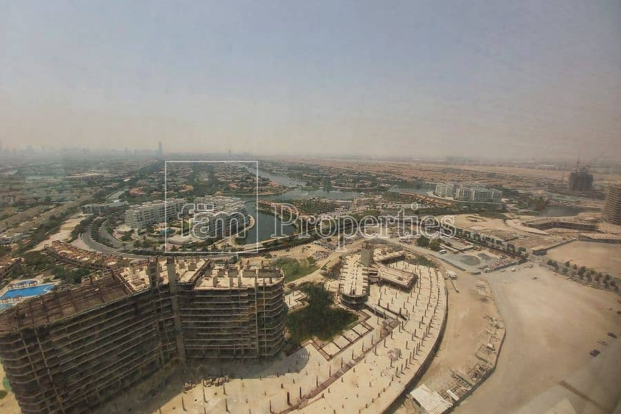 Jumeira Island View    High Floor    Fitted Office