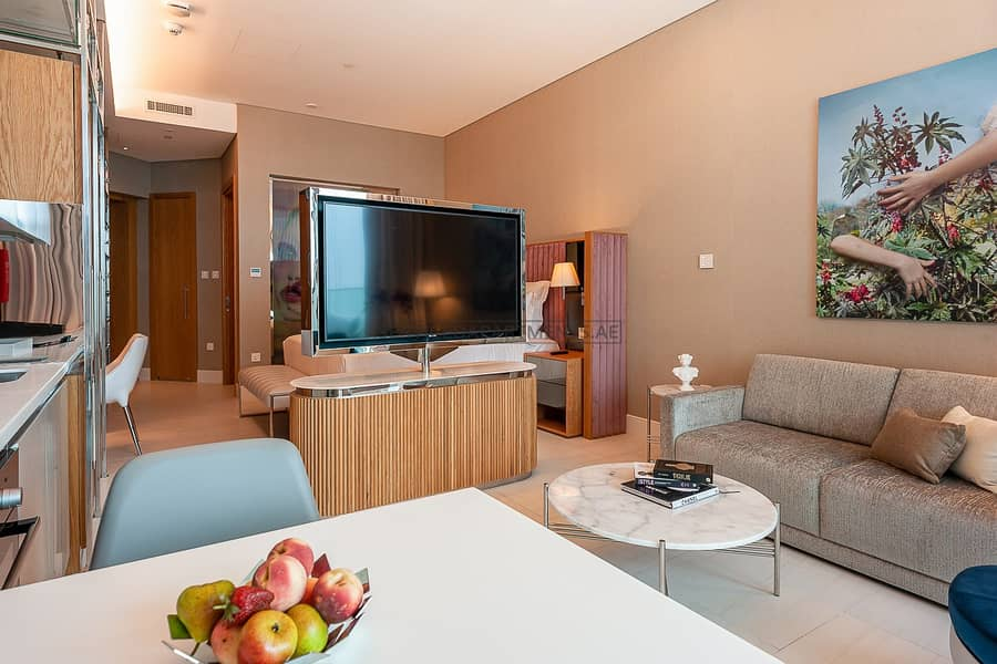 2 Furnished Urban Living Studio Serviced Apartment for Rent in SLS Dubai Hotel and Residences