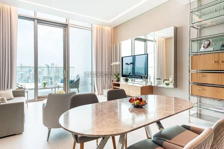 1 Bedroom Apartment for Rent in Business Bay, Dubai - Furnished Cloud Living 1BR Serviced Apartment for Rent in SLS Dubai Hotel and Residences