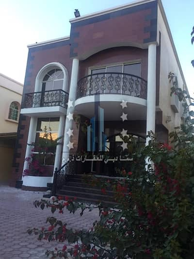 5 Bedroom Villa for Sale in Al Rawda, Ajman - Villa for sale with full specifications, with electricity and water, very elegant finishing, consisting of two floors from the owner directly at a very attractive price