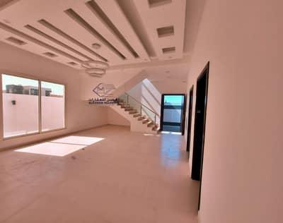 فیلا 5 غرف نوم للبيع في الياسمين، عجمان - فيلا مودرن للبيع تصميم اوربي فاخر وتشطيبات بوجوده عاليه بارقي المواقع وقريب من كافه الخدمات بعجمان وكافه التسهيلات البنكيه