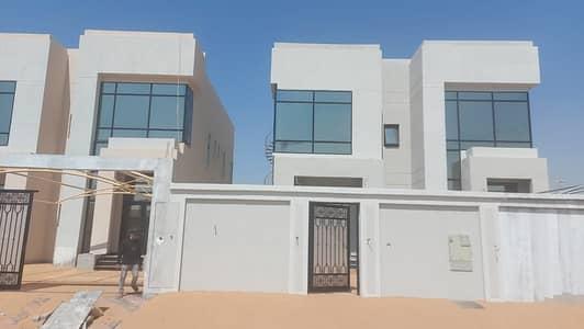 فیلا 5 غرف نوم للبيع في الياسمين، عجمان - للبيع فيلا تصميم عربي بمساحة بناء كبيره جدا وتشطيب سوبر ديولكس تملك حر لجميع الجنسيات