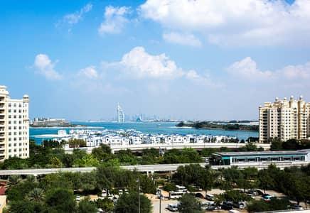 1 Bedroom Apartment for Rent in Palm Jumeirah, Dubai - Modern 1BR | 5* Hotel Facilities Access | Beach, Pool, Gym