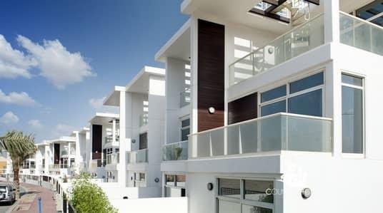 تاون هاوس 3 غرف نوم للبيع في قرية جميرا الدائرية، دبي - 3BR+Study + Maid | Private Pool | Ready To Move