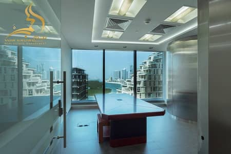 Office for Rent in Al Reem Island, Abu Dhabi - VERY HIGH FINISHING - SEA VIEW OFFICE