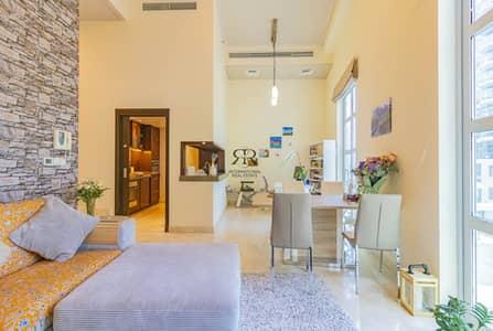 1 Bedroom Apartment for Rent in Dubai Marina, Dubai - Large Terrace | Duplex Apartment | Well Maintained
