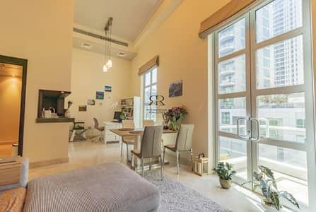 1 Bedroom Flat for Sale in Dubai Marina, Dubai - Large Terrace   Duplex Apartment   Well Maintained