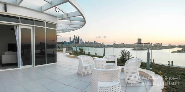 شقة 1 غرفة نوم للبيع في نخلة جميرا، دبي - Palm Facing Apartment|1BR with Private Beach Access