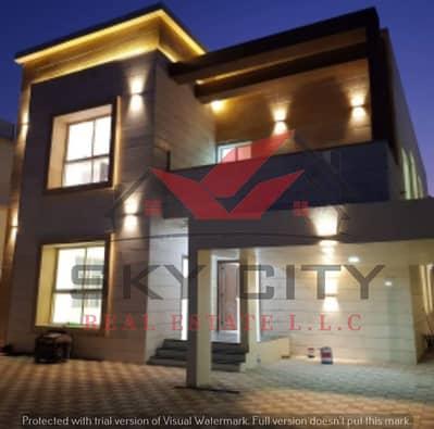 فیلا 5 غرف نوم للبيع في المويهات، عجمان - فيلا مودرن للبيع تصميم اوربي فاخر  وتشطيبات بوجوده عاليه بارقي المواقع وقريب من كافه الخدمات بعجمان وكافه التسهيلات البنكيه