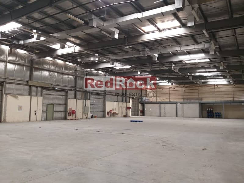 2 000 Sqft Warehouse with Offices in Umm Ramool