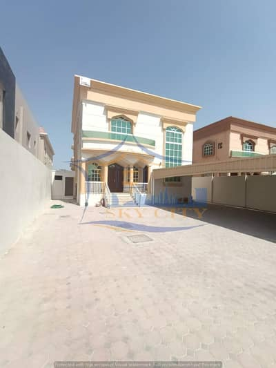 5 Bedroom Villa for Rent in Al Rawda, Ajman - Modern villa for sale Luxurious European design And finishes with high presence The most prestigious sites and close to all services in Ajman And all banking facilities