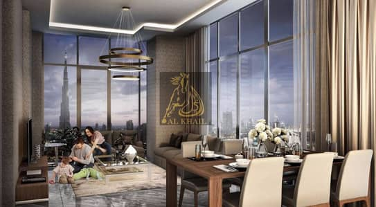 Pool View  Studio Apartment in Dubai Healthcare City  Pay 50% On Handover