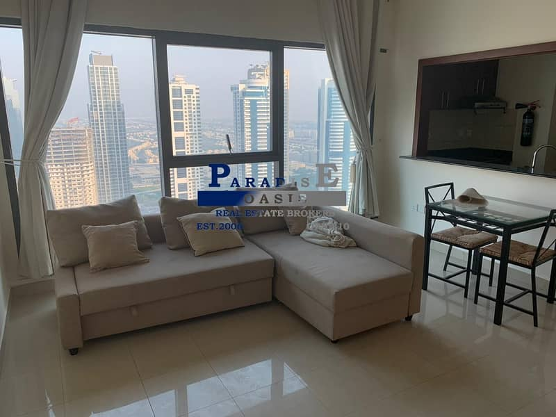 AC Free Furnished 1 BR For Rent In Timplace Tower