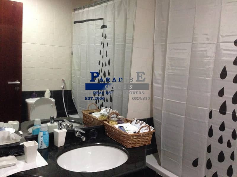 13 AC Free Furnished 1 BR For Rent In Timplace Tower