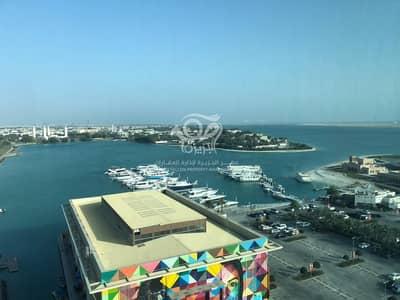 فلیٹ 1 غرفة نوم للايجار في البطين، أبوظبي - Balcony   elegant   Piratical Sea View