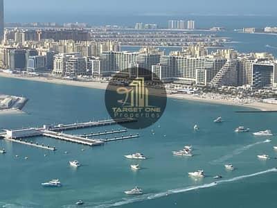 فلیٹ 2 غرفة نوم للايجار في دبي مارينا، دبي - FULL SEA VIEW