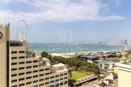 شقة 3 غرف نوم للبيع في جميرا بيتش ريزيدنس، دبي - Upgraded | Dubai Eye & Palm Jumeirah View