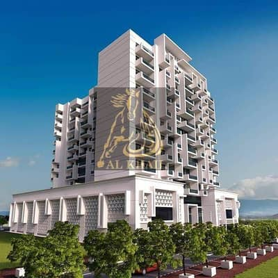 Last Unit  2BR Service Apartment in Al Furjanwith Fantastic Community View  On Easy Payment Plan
