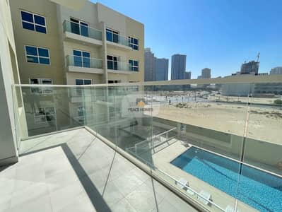 1 Bedroom Flat for Rent in Jumeirah Village Circle (JVC), Dubai - BRAND NEW   POOL FACING BALCONY   MOVE-IN @50K