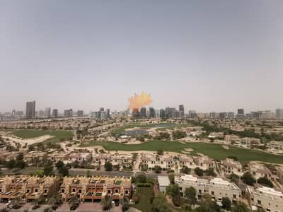 3 Bedroom Apartment for Rent in Dubai Sports City, Dubai - 3BR Fully Furnished With Golf Course View Ready To Move