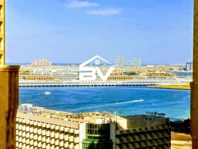 2 Bedroom Flat for Rent in Jumeirah Beach Residence (JBR), Dubai - Marina View | High Floor | vacant