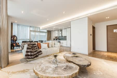 فلیٹ 3 غرف نوم للايجار في جميرا، دبي - Corner Unit | Burj Khalifa Skyline Views