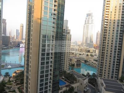 Studio for Sale in Downtown Dubai, Dubai - Best View|Spacious | Boulevard Central 2  Tenanted
