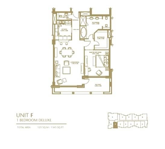 13 1 Bedroom | Fully Furnished | Low Floor