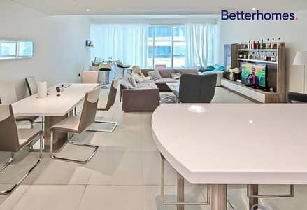 فلیٹ 3 غرف نوم للبيع في دبي مارينا، دبي - Big layout   Vacant on Transfer   Partial Seaview