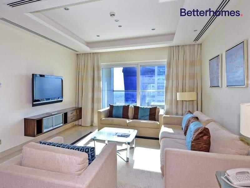2 Furnished | High Floor | Jumeirah Islands View