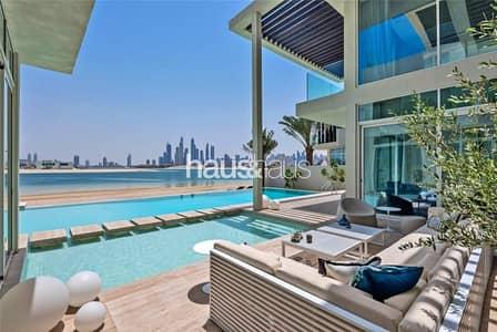 فیلا 6 غرف نوم للبيع في نخلة جميرا، دبي - Tip of Frond | Ultra-Modern | Furnished | Vacant