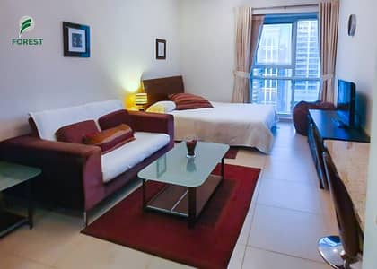 Studio for Rent in Jumeirah Lake Towers (JLT), Dubai - Spacious | Studio with Lake View | Fully Furnished