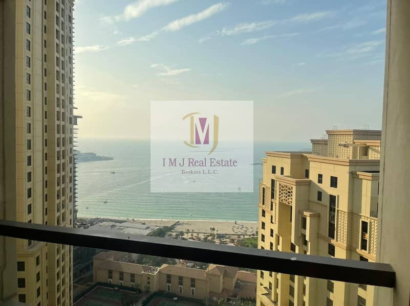 2 Sea View | 2BR Apartment for Sale | High Floor